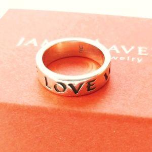 James Avery True Love Waits 925 Ring